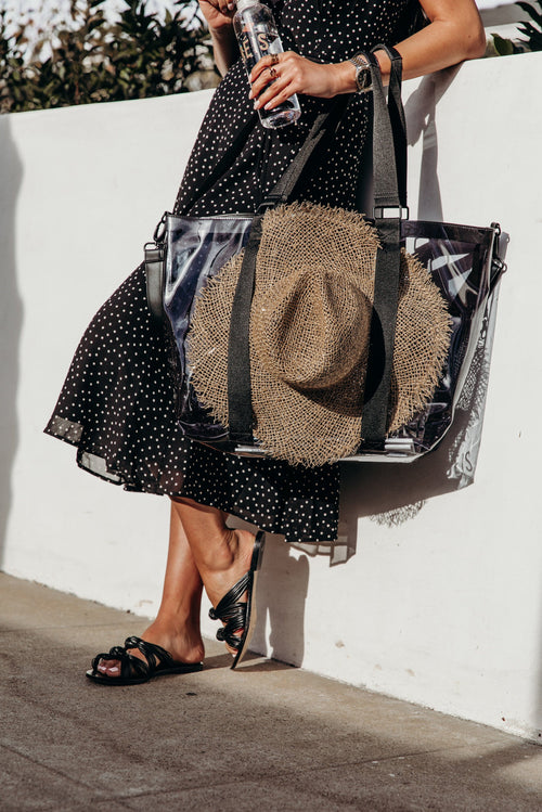 The Hat Tote in Black