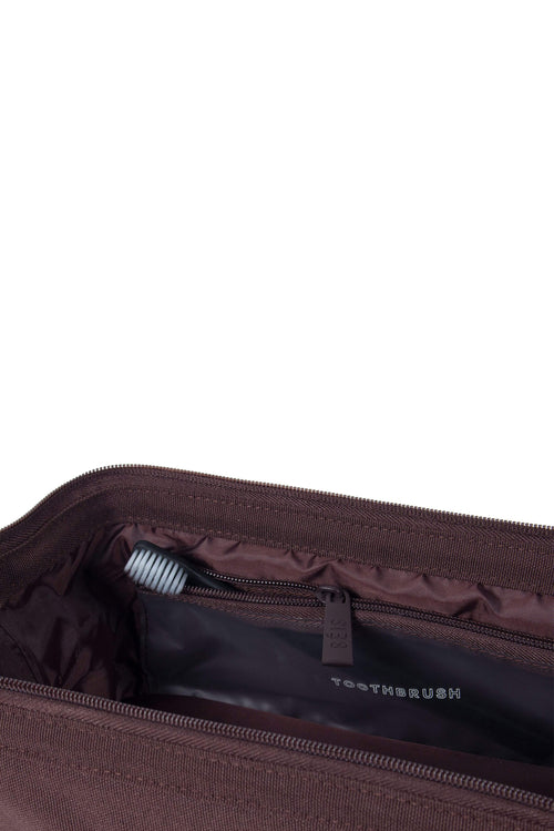 The Dopp Kit in Espresso Croc