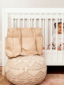 The Diaper Bag in Beige