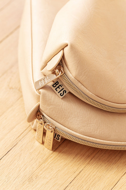 The Cosmetic Pouch Set in Beige