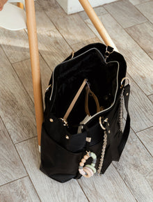 The Diaper Bag in Black