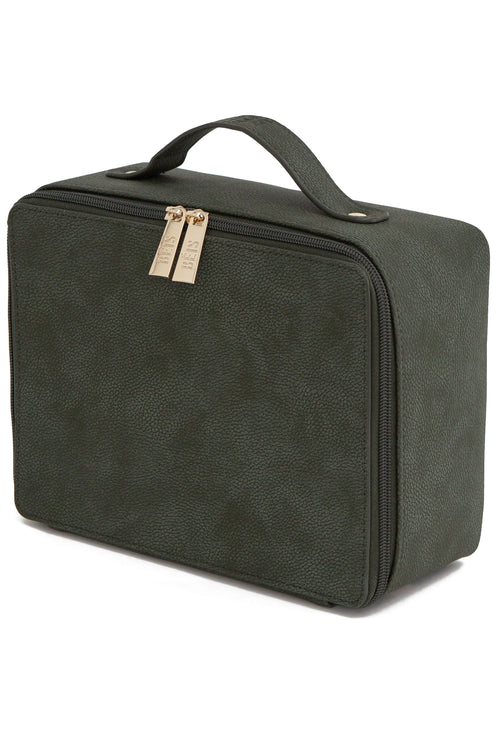 The Cosmetic Case in Green