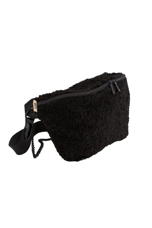 The Convertible Bum Bag in Black