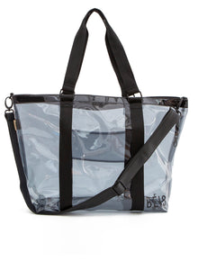 The Beach Tote in Black