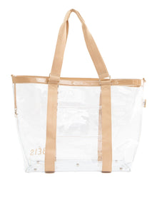 The Beach Tote in Beige