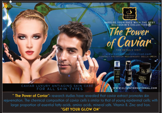 BellaSkin's Caviar Collection Luxury Set