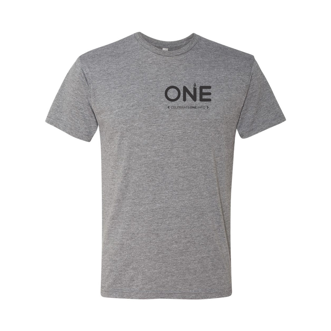 Celebrate One Branded Adult Unisex Triblend Tee