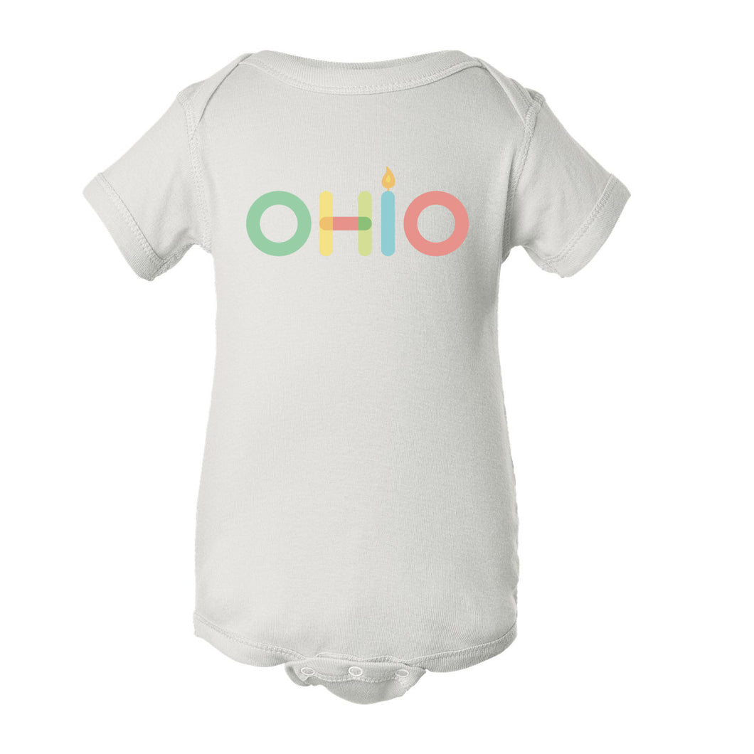Ohio in Color Baby One Piece