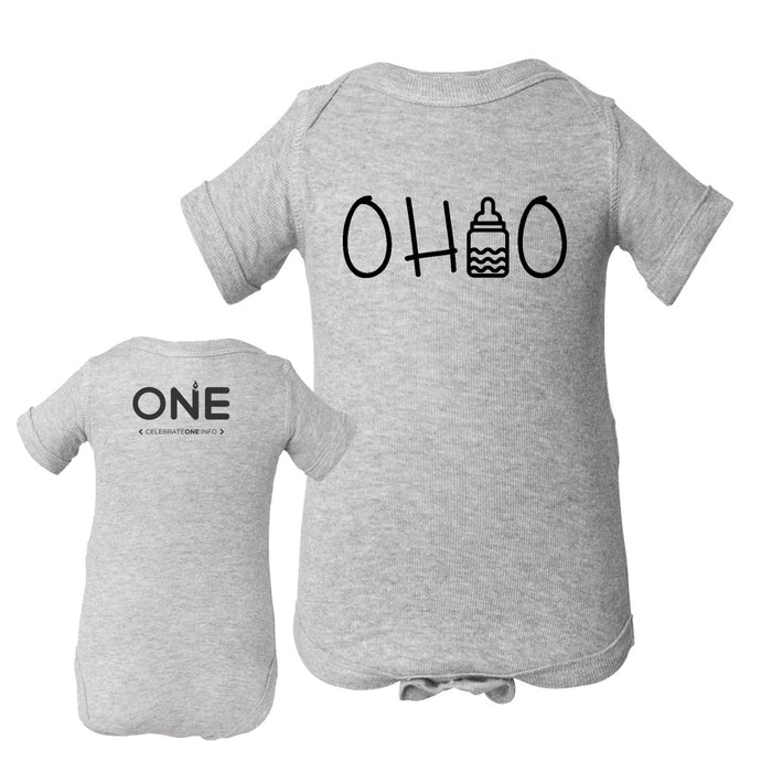 Ohio Bottle Baby One Piece