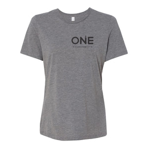 Celebrate One Branded Adult Womens Fit Triblend Tee