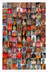 108 IMAGES OF HANUMAN POSTER
