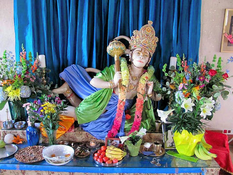 TAOS NKB HANUMAN MURTI 2010 PHOTO