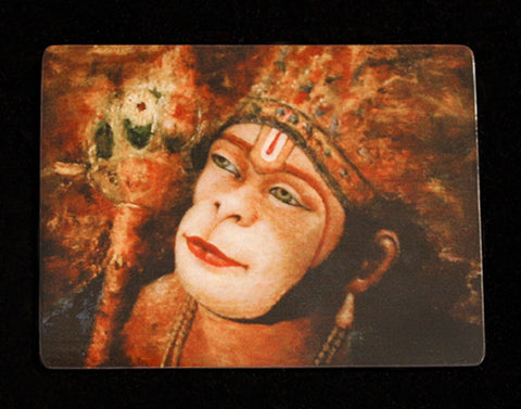 HANUMAN PAINTING ON MAGNET