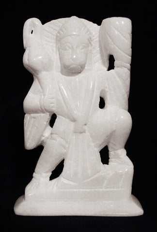 HANUMAN IN WHITE STONE