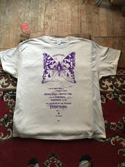 BUTTERFLY TEE SHIRT FROM BE HERE NOW FOR MEN