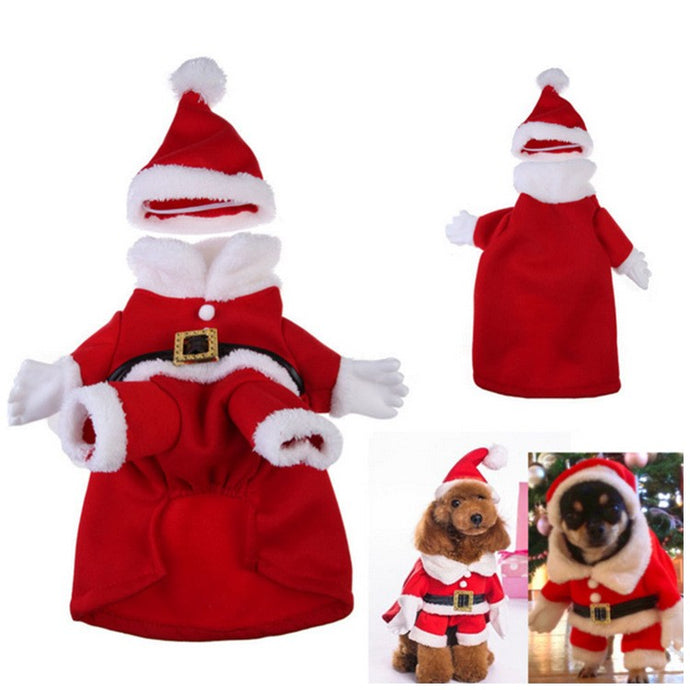 Doggy Christmas Santa Suit