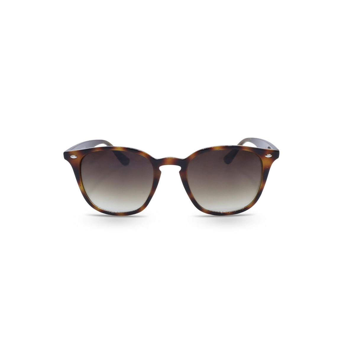 Retro Sunglasses in Leopard Frame & Brown Lens