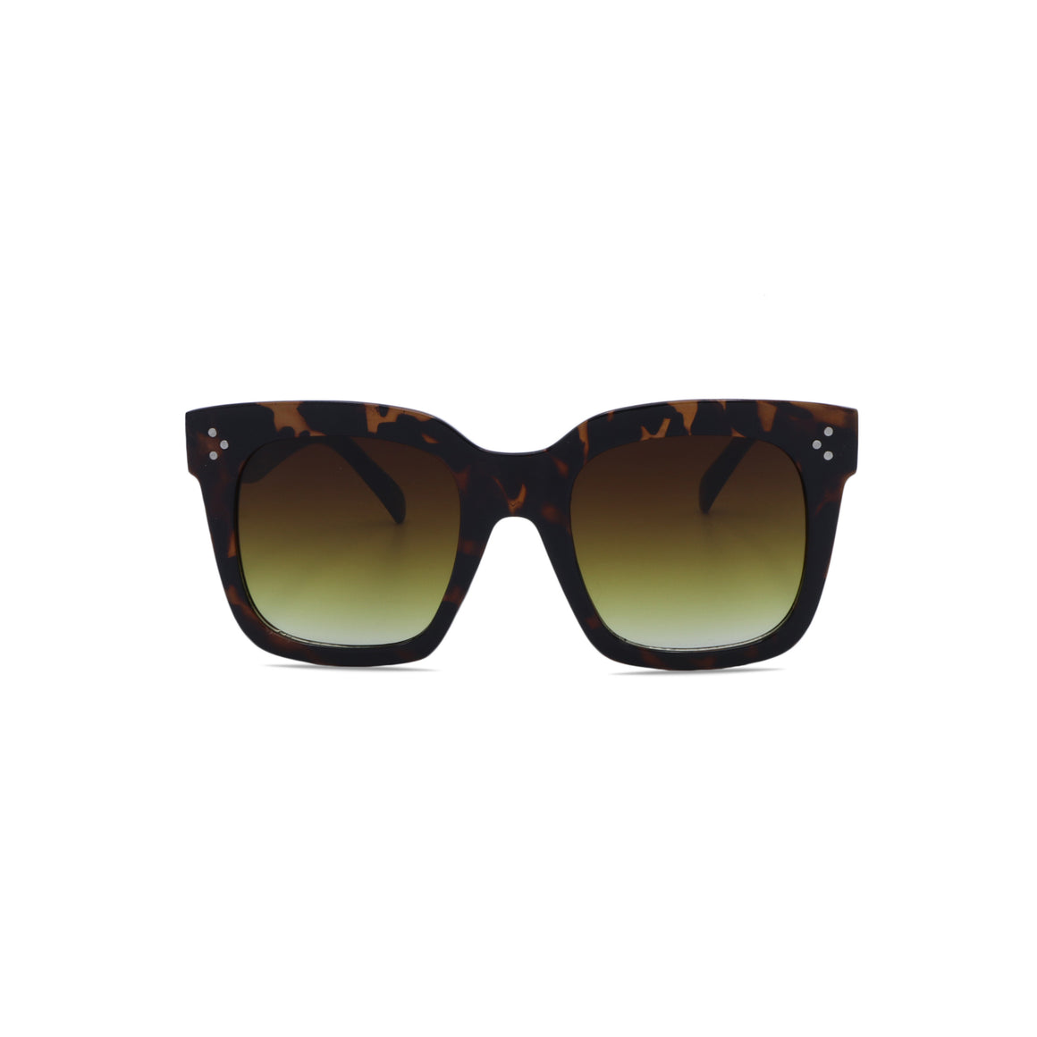 Vintage Sunglasses Retro in Leopard Brown Color