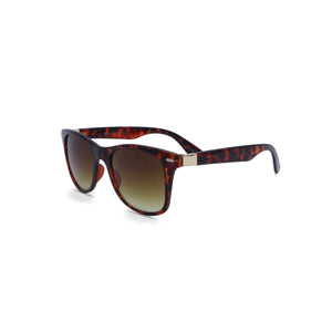Wayfarer Sunglasses Retro in Leopard Brown Color