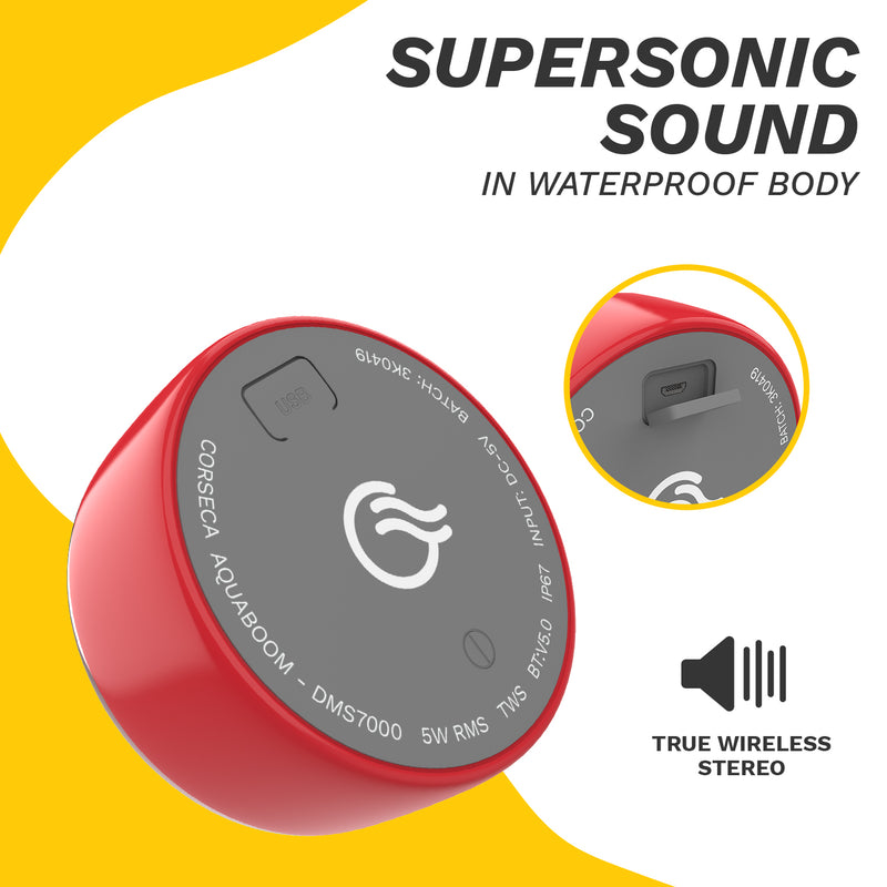 Buy Aquaboom Portable Speaker - CORSECA