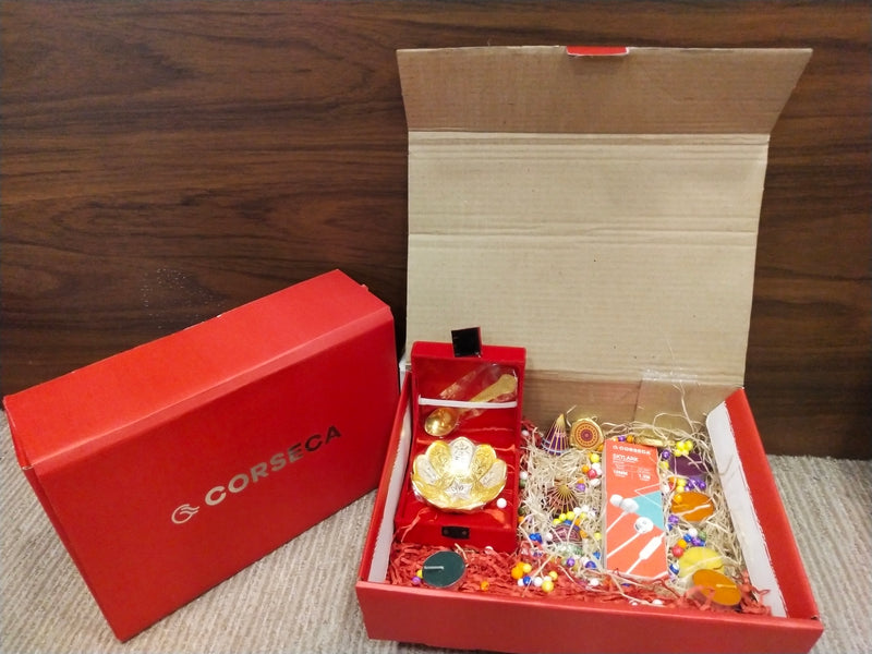 Diwali Hamper 1 - Happiness in a Box (Skylark, Bowl, Chocolates, Candles)