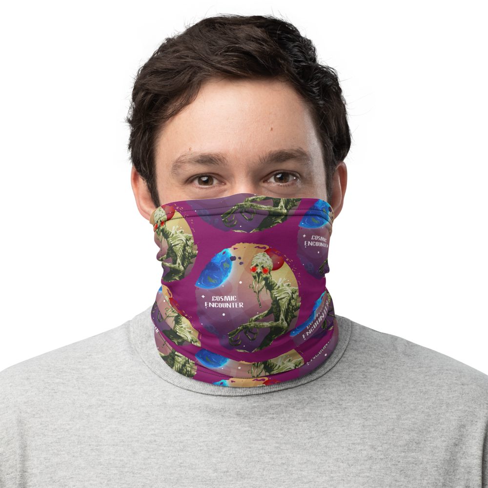 Cosmic Encounter Inspired Unisex Neck Gaiter/ Face Mask