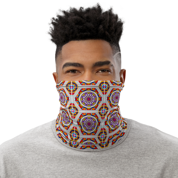 Sagrada (Square pattern) Inspired Board Game Unisex Neck Gaiter/ Face Mask