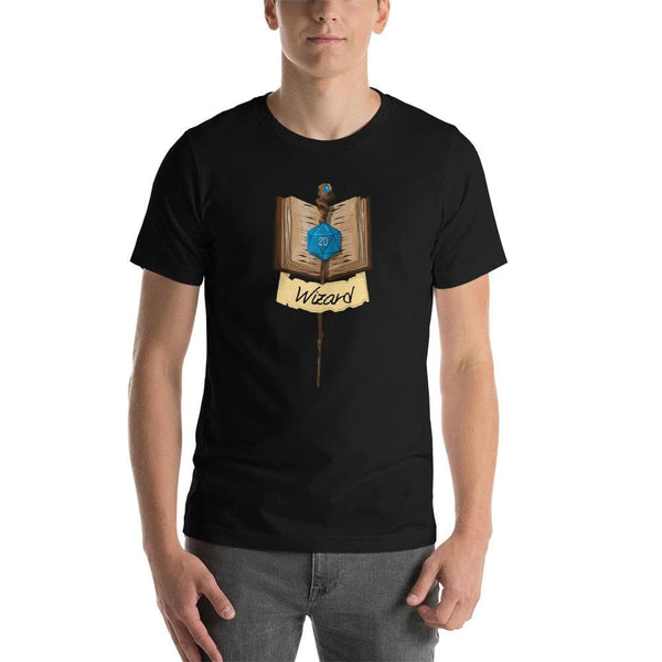 Wizard Fantasy RPG Character class Unisex T-Shirt