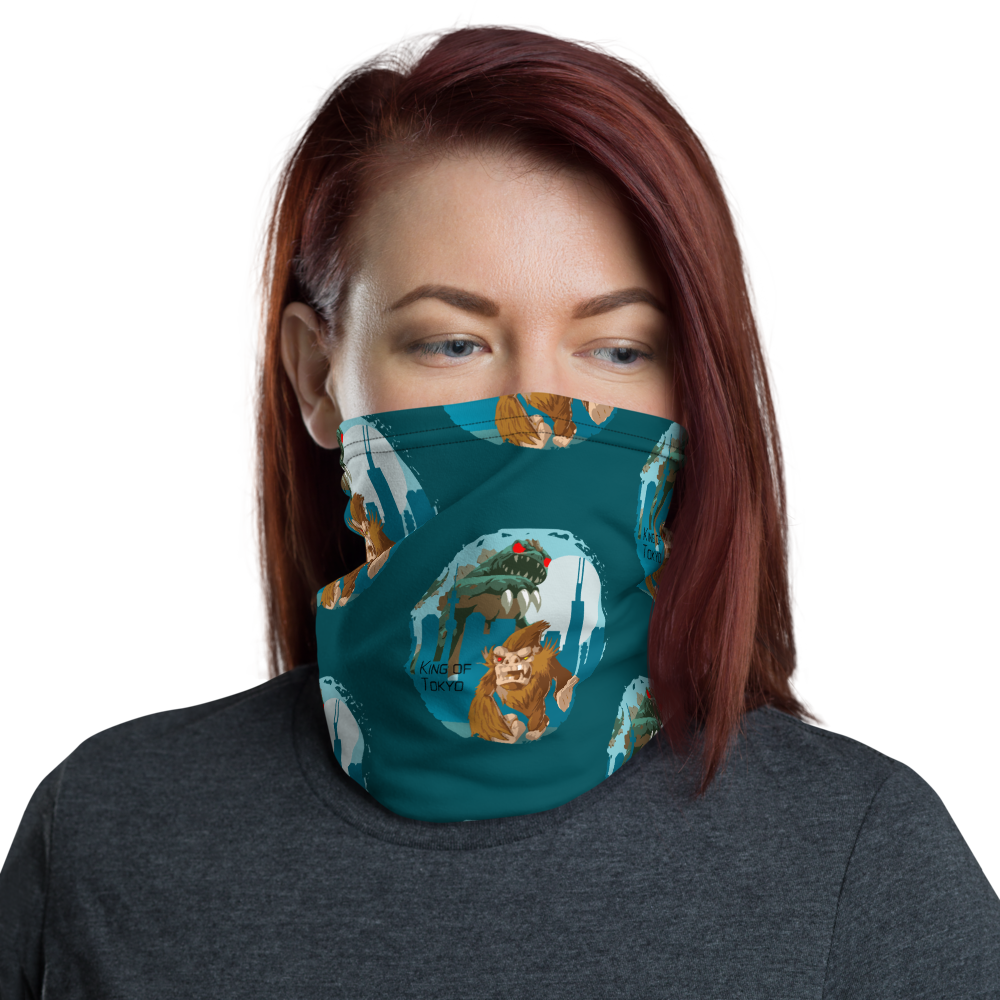 King of Tokyo Inspired Unisex Neck Gaiter/ Face Mask