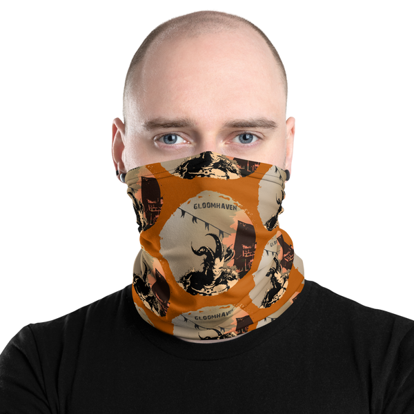 Gloomhaven Inspired Unisex Neck Gaiter/ Face Mask