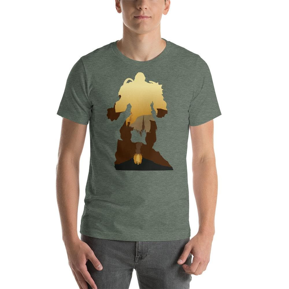 Gloomhaven (Cragheart) Silhouette Unisex T-Shirt
