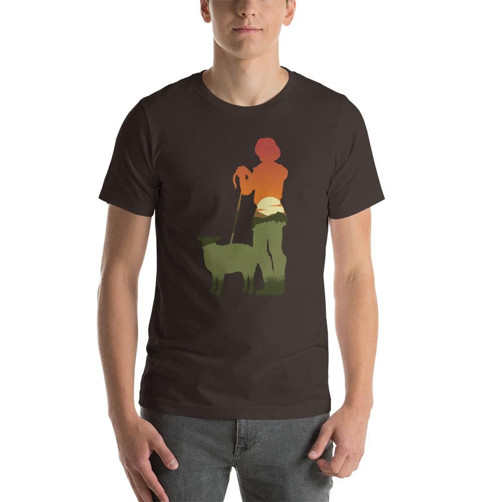 Catan (Shepherd) Silhouette Unisex T-Shirt - Settlers of Catan