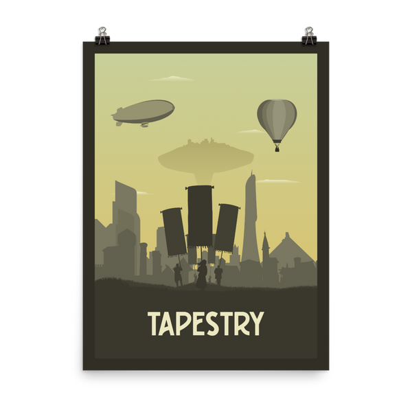 Tapestry Minimalist Board Game Art Poster