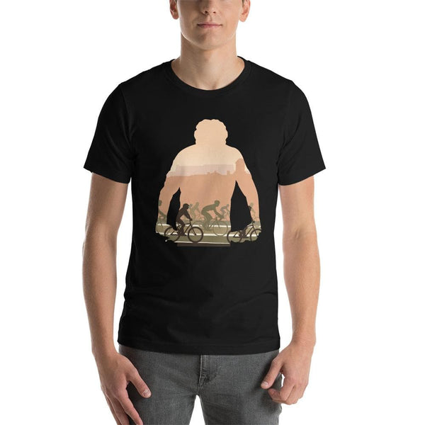 Flamme Rouge Silhouette Unisex T-Shirt