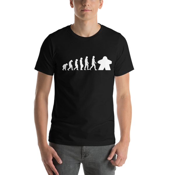 Meeple Evolution Unisex T-Shirt