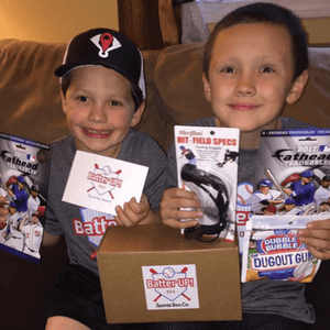 Baseball subscription box for all ages