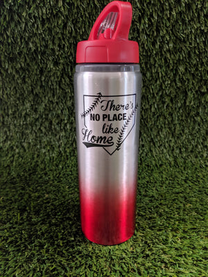 Water Bottle - No place like home - Sports Box Co