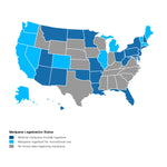 CBD Legality Federal Level and State by State
