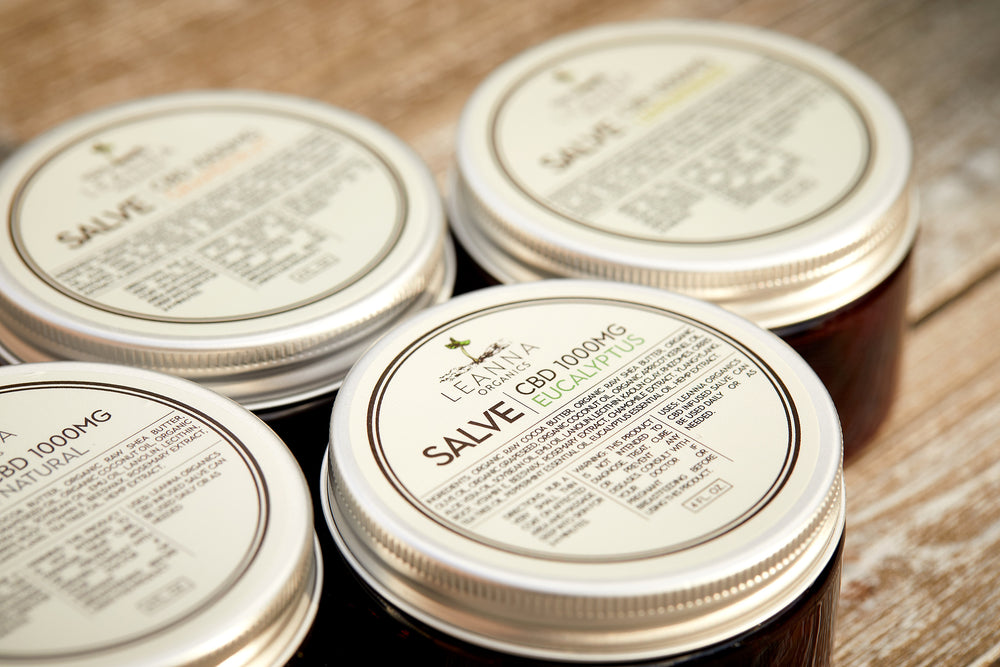 CBD Salve - Natural Scent - 1000mg