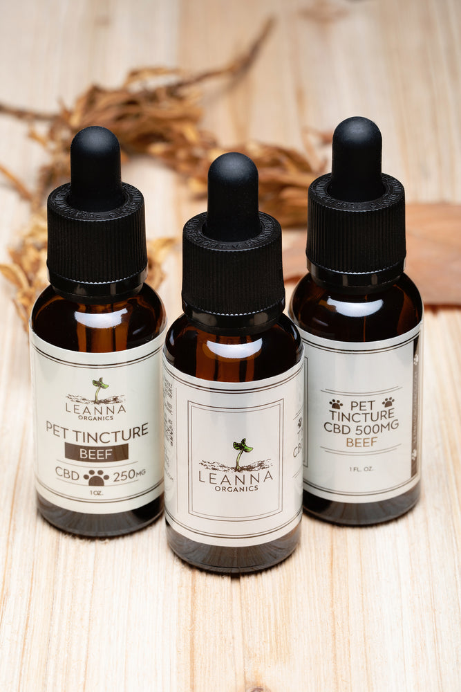 CBD Pet Tincture - Beef Flavored - 500mg
