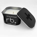 rb+ unscented massage oil candle - 6 oz.