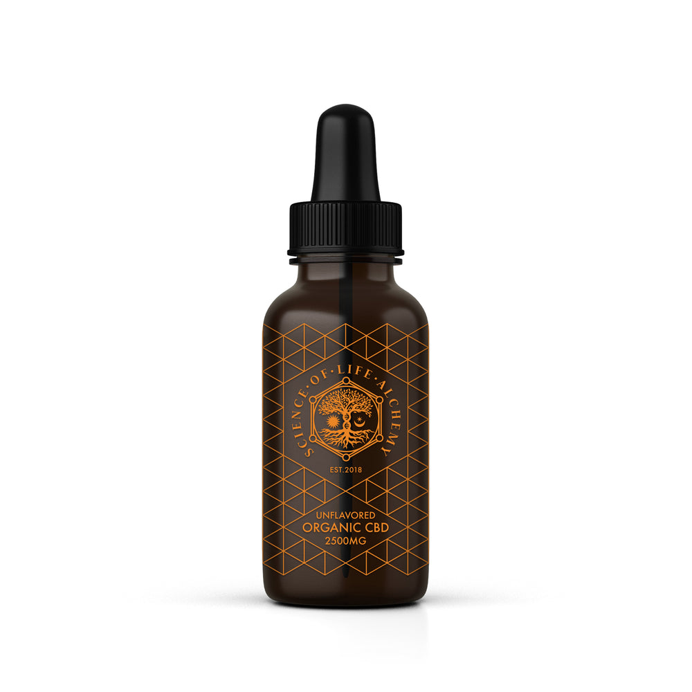 2500mg Unflavored Tincture