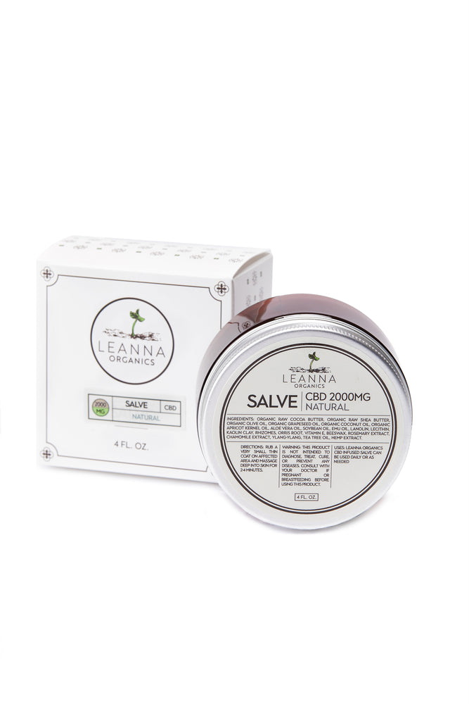 CBD Salve - Natural Scent - 2000mg