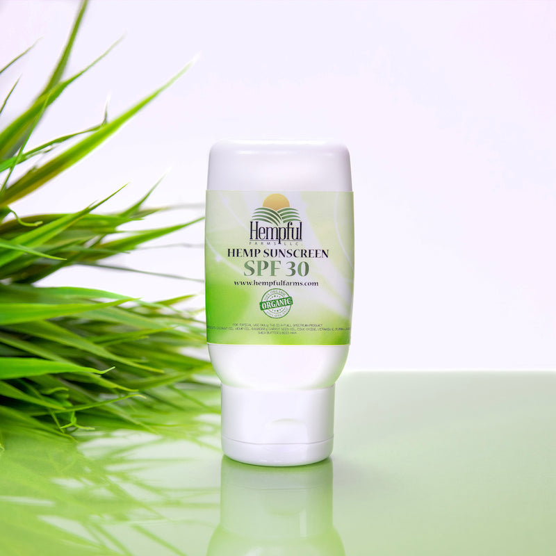 Full Spectrum CBD Hemp Sunscreen SPF30