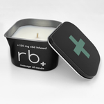 errbshop - rb+ eucalyptus massage oil candle - 6 oz.