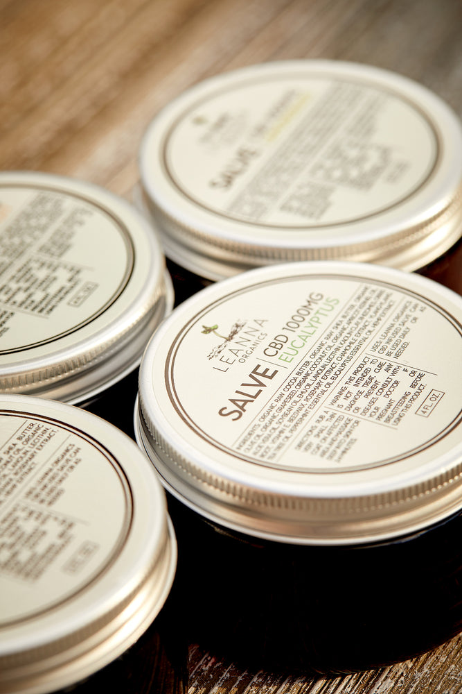 CBD Salve - Lemongrass - 1000mg