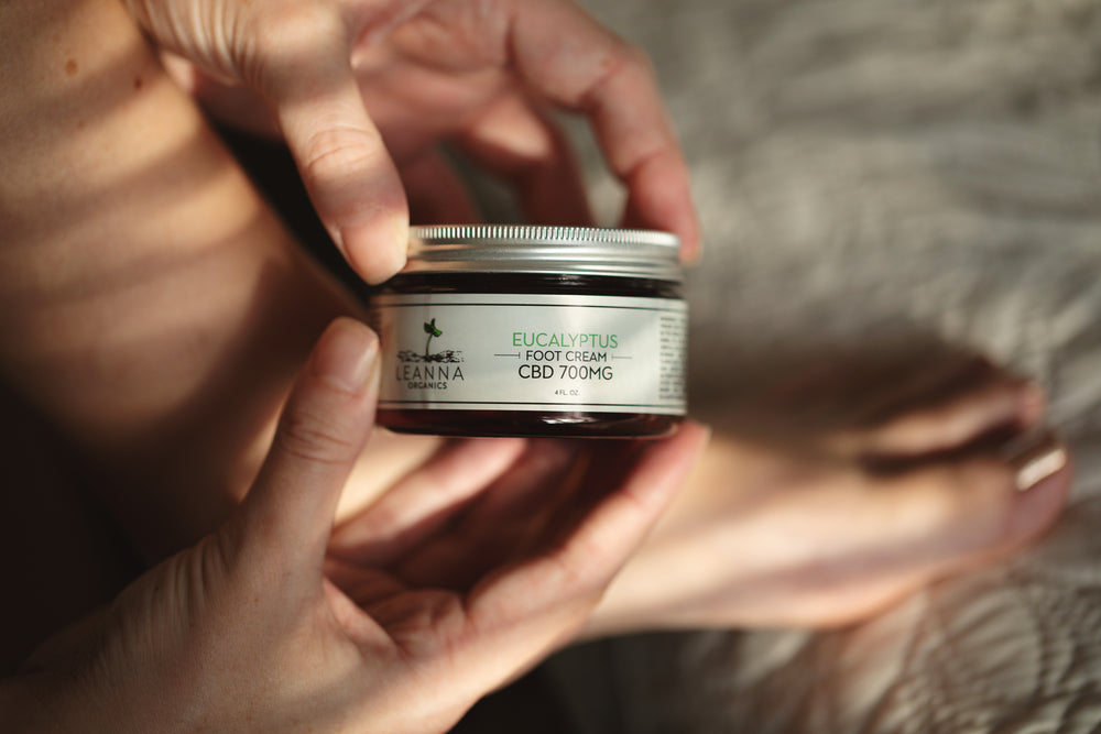 CBD Foot Cream - 700mg - Eucalyptus