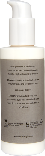 Ultra-Rich hydrating body lotion with HC56Complex