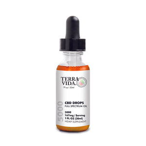 CBD Drops 5000mg