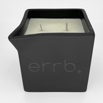 errbshop - errb+ cbd infused massage oil candle - 12 oz.